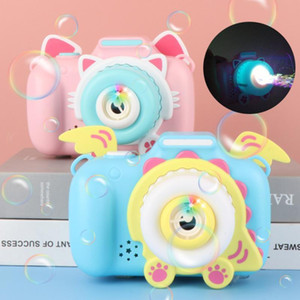 2 styles Bubble blowing toys Cartoon bubble camera Electric music Toy camera for children Soapy water Children's gift Children's T