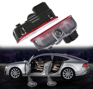 VW باب السيارة مرحبا بكم ضوء الليزر باب السيارة الظل شعار العارض مصباح لمبات لشركة فولكس فاجن جولف 5 6 7