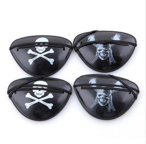 Parti Maskesi Noel Cadılar Bayramı Kostüm Çocuk Oyuncak İçin Göz Patch Blindage Aksesuarları Korsan Tek -Eye Korsan Eyepatch ile Esnek İp Soğuk