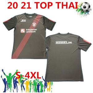 Envío gratis Dinamarca Football Club FC Midtjylland Inicio Black Soccer Jersey Regalos festivos Uniformes de fútbol