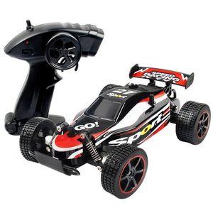HiPac RC Cars Radio Control 2.4G 4ch Rock Car Bugy Off-Road Trucks giocattoli per bambini ad alta velocità arrampicata Mini RC Drift Drift 201105