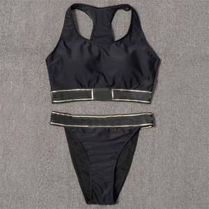Vintage Black Bikinis Sexy Push Up Push Up Maillard pour femmes Sous Fashion Beach Sunbathing Maillots de bain cadeau d'anniversaire pour fille