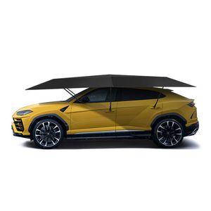Горячая продажа 4.8M Полуавтоматической Палатка Открытого Автомобиля Автомобиль Зонт Зонт крыша крышка Anti-UV Автокомплект Umbrella ВС Shade палатка