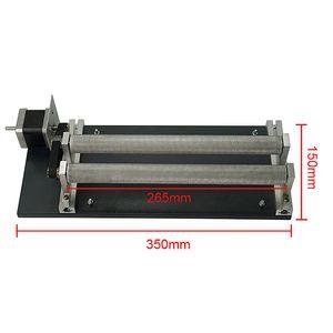 유니버설 레이저 로터리 축 실린더 조각 CO2 3040 6040 6090 레이저 조각 기계 및 파이버 마킹 레이저 기계