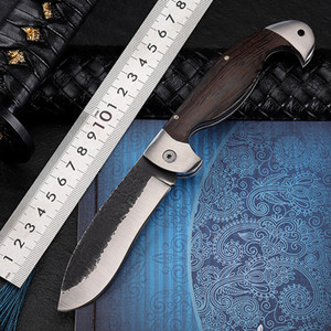 8.19'' Damascus Folding Knife Outdoor Survival Tactical Pocket Knife Camping Combat Hiking Hunting Knives For Self-defense Tools