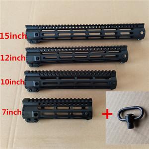 جديد AR-15 MLOK 7 10 12 بوصة ضئيلة الحرة تعويم الحرس picatinny السكك الحديدية جبل قوس