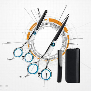 1 Set of Hairdressing Scissors Teeth Cut Flat Cut Hair Styling Tools Hair Salon Tools Set for Barber Home