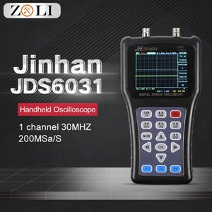 New Hand-held Oscilloscope Digital Oscilloscope 1 channel 30MHZ 200MSa S with Portable USB Charger Probe Cable Jinhan JDS6031