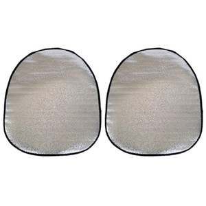 2pcs Steering Wheel Cover Steering Wheel Thermal Insulation Sunshade Cover Accessories Sun Visor Protector for Car Whee