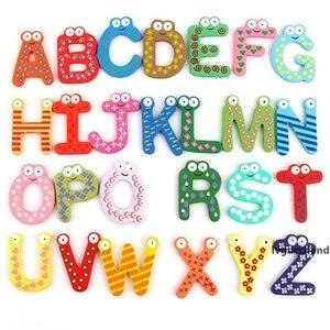 Çocuklar İngilizce Alfabe Çıkartma Buzdolabı Mıknatıslar Big Anti-Pas Kalınlaşmış duvar Etiketler dolabı Magnet Sticker