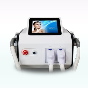 painless portable double handles elight ipl 2 in 1 hair remove ipl hair removal depilator acne treatment free ship