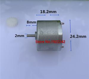 Brand new RF-310T shaft diameter 2mm 310 DC motor 3V 5V 6V metal brush DC motor small current low noise~
