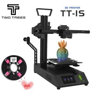 TWOTREES-1S Mini 3D imprimante Titan Extrudeuse 220 V / 110V bricolage universel avec 0,2 kg Filament Ceinture extensible Tendeur Montage rapide