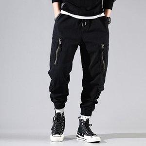 Autumn Winter Fashion Men Jeans High Quality Japanese Vintage Designer Harem Trousers Multi Pockets Cargo Pants Hip Hop Joggers