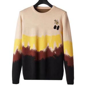 Уличная мода мужская свитер 2021 стилист высокое качество пчелиные свитера мужчины женщины пары хип-хоп с длинным рукавом пуловер