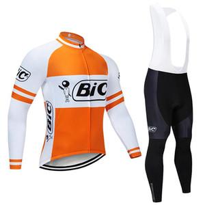Cyclisme Hiver Jersey 2020 Pro équipe Bic vétement Toison Cyclisme Vtt Bike Jersey Salopette Kit Ropa Ciclismo Inverno