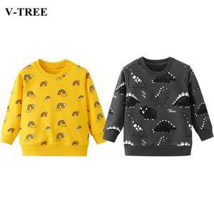 2020 Marca de niños con capucha otoño invierno largo suéter para niños de la manga de los muchachos muchachas de las camisas Pullover Escuela de bebé Ropa de abrigo