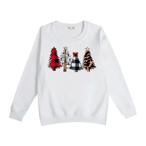 Рождество женские вокруг шеи теплый свитер тянуть люксусный, леопардовым принтом Елка печать с длинным рукавом пуловер свитер розовый