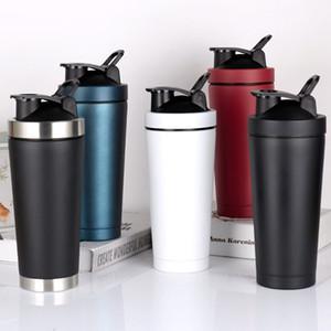 Edelstahl Wärmeerhaltungsschale Körperbau Sport Wasserflaschen Doppeldeck Outdoor Sports Halten Sie Warm Cup T9I00722