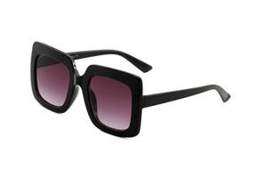 0328 populaire femme lunettes de soleil mode Square Style d'été Cadre Plein de qualité supérieure Protection UV 0083S Lunettes de soleil Couleur mélangée