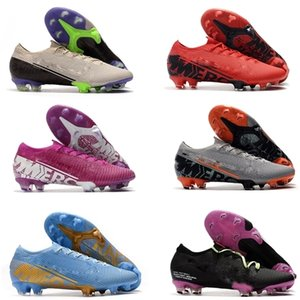 En Yeni Mercurial 13 FG Futbol Futbol Ayakkabı Future Lab Mbappe CR7 Ronaldo Neymar Mens ACC Çorap Futbol Profilli Futbol Boots
