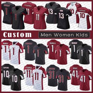 1 كيلر موراي أريزوناالكاردينال الرجال مخصص للنساء كيد كرة القدم جيرسيالكرادلة 10 ديندر هوبكنز 11 لاري فيتزجيرالد مسيحي كيرك