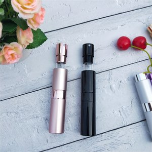 8ML Portable Telescopic Rotary Spray Bottle Alumina Perfume Empty Bottle Perfume Diffuser Makeup Atommizer Spray Bottling Tube 8 L2
