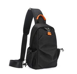 Man Chest Bags Casual Gentlaman Shoulder Bags Plain Large Capacity Boy Travel Bag Fashion Trip Handbag