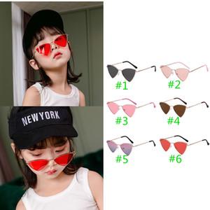 INS New Unisex kids girls boys Love sunglasses girls sunglasses ultraviolet-proof kids glasses boys glasses  accessories