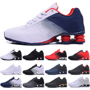 Мужские кроссовки Shox Deliver 809 с прямой доставкой, оптовая продажа, знаменитые мужские спортивные кроссовки DELIVER OZ NZ, спортивные повседневные кроссовки, 36-46