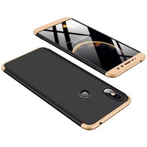 Für Redmi S2 Stoß- Luxus Schutz 3 in 1 Matte Ganzkörper-Abdeckung Shell Ultra Thin PC Phone Case