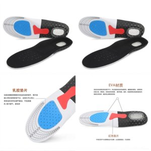 GAa Silicone shoes Silicone shoes sports insole EVA honeycomb breathable shock absorptiontraining basketball sports sweat absorption
