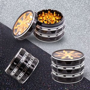 Herb Spice Grinder 4Layers 63mm Grinder Empty Aluminium Alloy High Quality for Dry Herb Tobacco Smoking Cigarette Colorful Easy to Use DHL