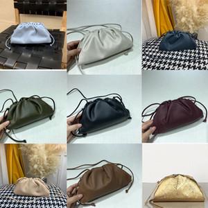 2020Top Qualidade A bolsa macia Weave bezerro Ladies Clutch Bag Handbag Moda crossbody mulheres Sacola v7YM #