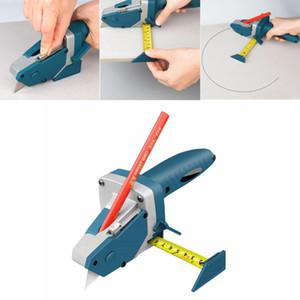 Spingere a mano Strumenti del muro a secco di taglio artefatto con nastro Manuale cartongesso Cutter Strumenti di falegnameria Tagliere