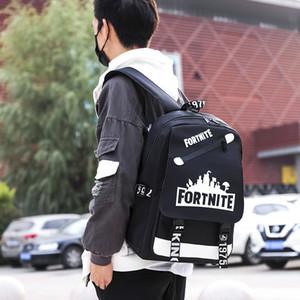 2020 Новые USB компьютерных сумок серебристого рюкзак открытого мешок отдыха юниор высоких студенты мешок собственного логотип