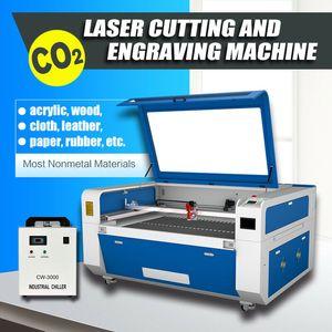 CE FDA 80W RECI CO2 Laser Engraving Laser Cutting Machine 600*400mm Door to Door