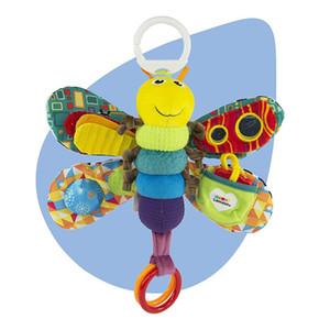 Baby Girl / Boy 0-12 Mês Brinquedos Stroller / Cama de suspensão da borboleta / abelha Handbell Rattle Móvel / mordedor Educação Stuffed / Plush Toys Kid 1020