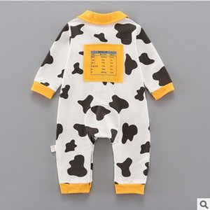 Baby autumn one piece suit 2020 new baby and children's clothing long sleeve baby romper creeper autumn newborn full moon wear