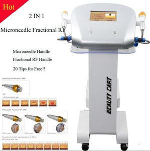 New Design 4 tips Fractional machine microneedle Fractional RF Micro needle Fractional RF Skin Care Beauty Machine