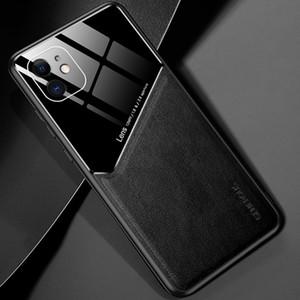 Caja del teléfono para el caso del iPhone de cuero imán 2 XR 7 8 Plus SE 12 11 Mini Pro MAX XS para Galaxy S20 FE