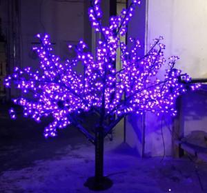 LED all'aperto LED Artificiale Blossom albero Lampada albero di Natale Lampada albero di Natale 1248pcs LED 6ft / 1.8m Altezza 110Vac / 220Vac Trasporto per goccia antipioggia