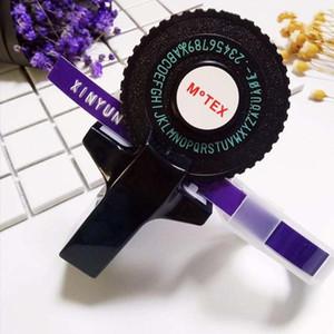 1pcs Mini Manual Printer Label Embossing Typewriter Bar Code Machine Portable Labeling Machine with Decorative Label Tape