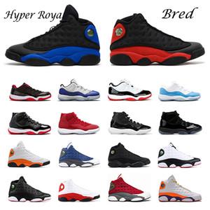 jordans Air jordan Retro Aurora Green площадка Flint 13s Лучшие качества Jumpman 13 Мужчины Женщины Баскетбол обувь Бред Luky ЗЕЛЕНЫЙ шапочке и мантии Спорт тапки