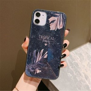 Gypsophila Flash Diamond Suitable For Mobile Phone Case For Iphone11 12 pro max 7 8plus XS MAX SE2020 Glass Protectivne Back Cover