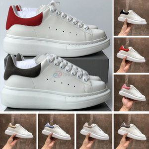 2021 Fashion Luxurys Designer-Schuhe für Männer Frauen Luxe-Plattform-Schuhe Schwarz Blau Rot Velet Leder-beiläufige Kleid Turnschuhe Damen-Trainer