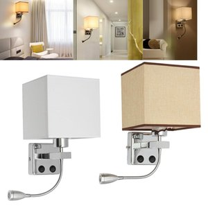 Moderna lámpara de pared ajustable Led Luz Led pared del ojo Luz Proteja luz de lectura Home Study Noche dormitorio de noche Corredor accesorio de la lámpara