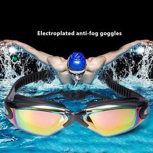 Swimming Goggles Women Men Swim Goggles Waterproof Suit Hd Uv Adjustable Prescription Glasses For Pools With Earplugs Sqctpp Home2