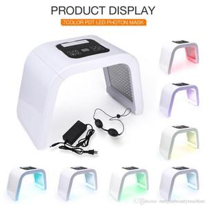 NEW Professional Photon PDT Led Light Facial Mask Machine 7 Colors Acne Treatment Face Whitening Skin Rejuvenation Light Therapy Machine