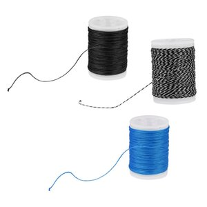3 Pieces 110m 120yard Fiber Bow String Serving Thread, Mixed Color